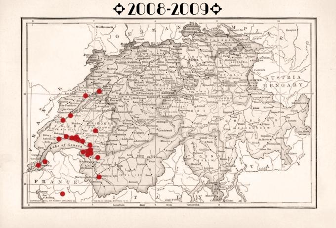 carte suisse 08-09